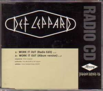 Work it out (2 vers.) - DEF LEPPARD