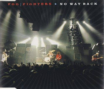 No way back (1 track+same track in MP3 format) - FOO FIGHTERS
