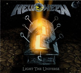Light the universe (3 tracks+1 video track) - HELLOWEEN