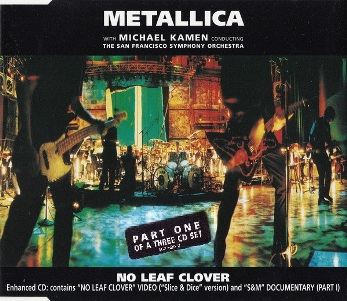 No leaf clover pt.1 (1 track+2 tracks video) - METALLICA