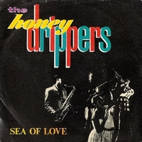 Sea of love \ Rockin' at midnight - HONEYDRIPPERS  (ex Led Zeppelin)