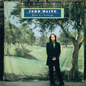 Figure in a landscape - JOHN WAITE