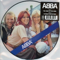 The name of the game \ I wonder (departure) - ABBA
