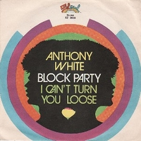Block party \ I can't turn you loose - ANTHONY WHITE
