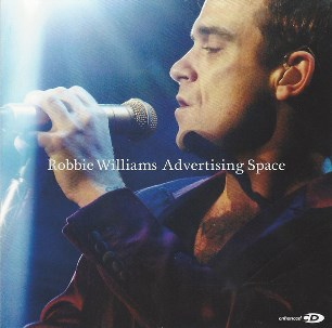 Advertising space (3 tracks+multimedia track) - ROBBIE WILLIAMS