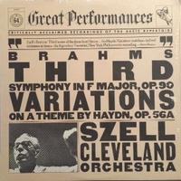 Third symphony in F major, op.90 - Johannes BRAHMS  (George Szell \ Cleveland orchestra)