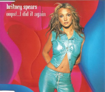 Ooops!...I did it again (4 tracks) - BRITNEY SPEARS