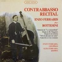 Enzo Ferraris plays Bottesini-Contrabbassp recital - Giovanni BOTTESINI (Enzo Ferraris)
