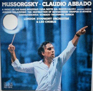 A night on the bare mountain (original vers.)\Joshua\Salammbo... - Modest MUSSORGSKY (Claudio Abbado)