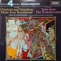 Overture and Venusberg music from Tannhauser\Suite from De Rosenkavalier - Richard WAGNER \ Richard STRAUSS (Erich Leinsdorf, London symphony orchestra)