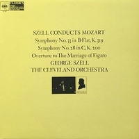 Szell conducts Mozart (Symphonies n°33+28, Overture to the marriage of Figaro) - Wolfgang Amadeus MOZART (George Szell, Cleveland orchestra)
