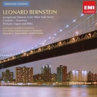Symphonic dances from West side story-Candide overture-On the town - LEONARD BERNSTEIN (Simon Rattle, Leonard Slatkin)