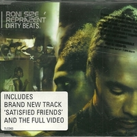 Dirty beats (3 tracks+1 track video) - RONI SIZE REPRAZENT