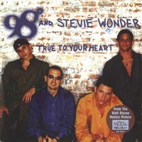True to your heart (2 vers.) - 98° \ STEVIE WONDER