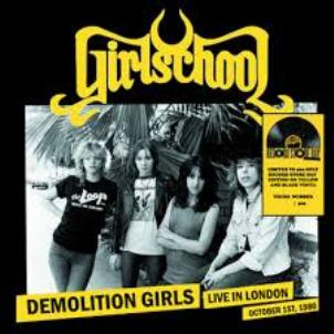 Demolition girls - LIve in London october 1st, 1980 (RSD 2019) - GIRLSCHOOL