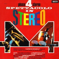 Spettacolo in stereo - STANLEY BLACK \ Ted Heat \ Werner Mueller \ Edmundo Ros \ Ronnie Aldrich \ various