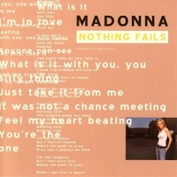 Nothing fails (8 tracks) - MADONNA