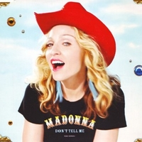 Don't tell me (4 tracks) - MADONNA
