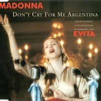 Don't cry for me Argentina CD2 (4 vers.) - MADONNA