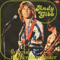 (Love is)ticker than water \ Words and… - ANDY GIBB