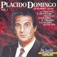 Vol.1 - Live recordings 1967/68 - PLACIDO DOMINGO