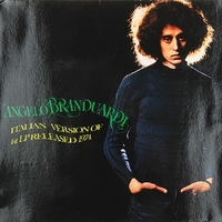 Italian version of 1st LP released 1974 - ANGELO BRANDUARDI