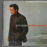At this moment (4 tracks) (spec.tour souvenir package) - TOM JONES