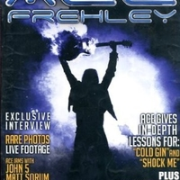 Behind the player - ACE FREHLEY