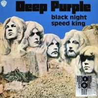 Black night (1995 Roger Glover mix;single edit) \ Speed king (piano vers.) - DEEP PURPLE