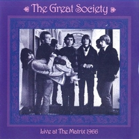 Live at the Matrix 1966 - GREAT SOCIETY \ GRACE SLICK (pre Jefferson Airplane)