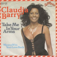 Take me in your arms \ Wanna win your love back - CLAUDJA BARRY