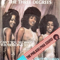 Dirty old man \ Can't you see what you're doing to me - THREE DEGREES