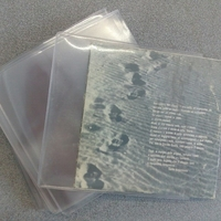 Hard sleeve for CDs