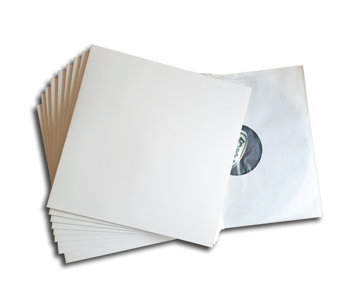 LP cardboard cover (white)