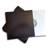 LP cardboard cover (black)