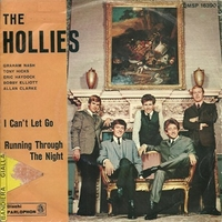 I can't let go \ Running through the night - HOLLIES