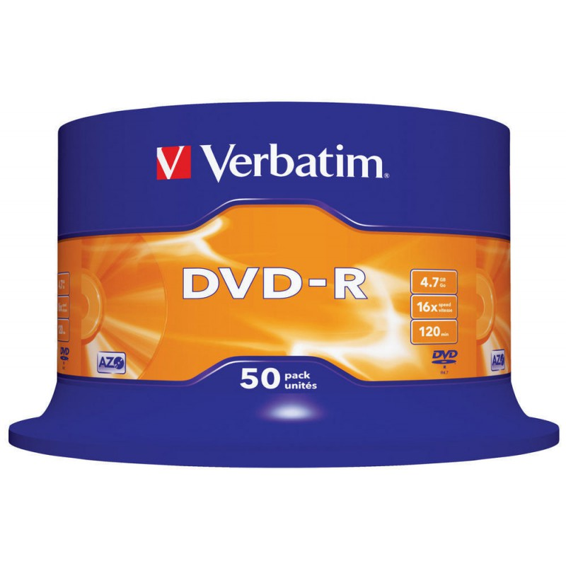 VERBATIM DVD-R cake 50 pieces