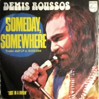 Someday somewhere \ Lost in a dream - DEMIS ROUSSOS