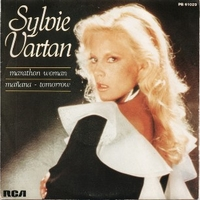 Marathon woman \ Manana tomorrow - SYLVIE VARTAN