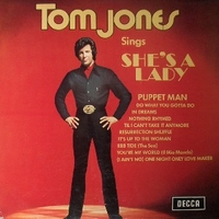 Tom Jones sings She's a lady - TOM JONES