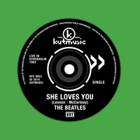 She loves you \ Twist and shout - BEATLES