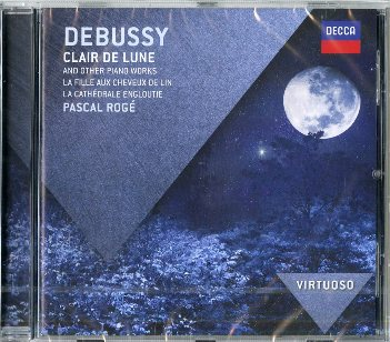 Clair de lune and other piano works - Claude DEBUSSY (Pascal Rogè)