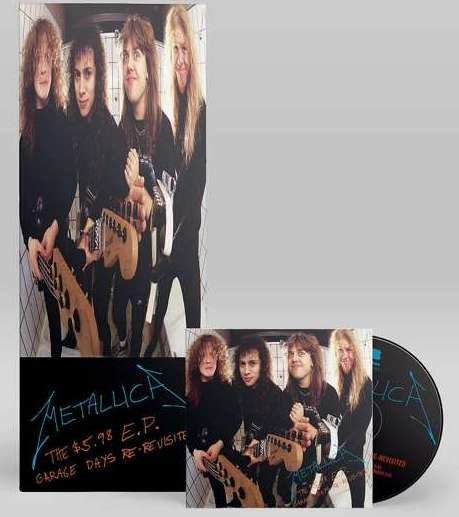 The $5.98 E.P. Garage days re-revisited - METALLICA