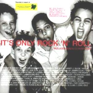It's only rock'n'roll (3 vers.+video) - VARIOUS artists for childrens promise