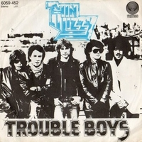 Trouble boys \ Memory pain - THIN LIZZY