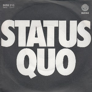 Again and again \ Too far gone - STATUS QUO