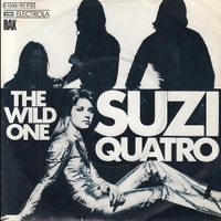The wild one \ Shake my sugar - SUZI QUATRO