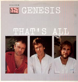 That's all\Taking it all too hard - GENESIS