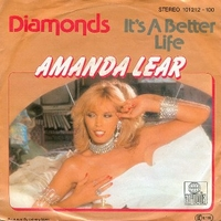 Diamonds \ It's a better life - AMANDA LEAR