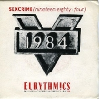 Sexcrime \ I did it just the same - EURYTHMICS